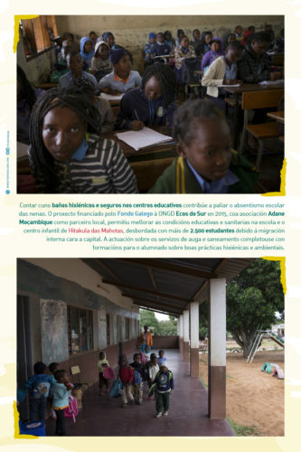 Exposición Dereitos Humanos en Mozambique