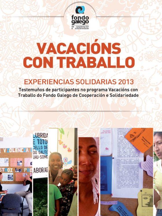 Caderno Vacacións con Traballo 2013