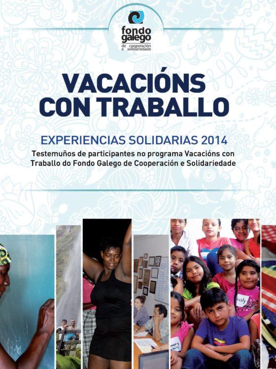 Caderno Vacacións con Traballo 2014