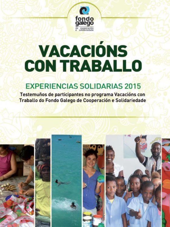 Caderno Vacacións con Traballo 2015