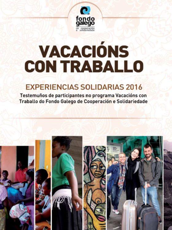 Caderno Vacacións con Traballo 2016