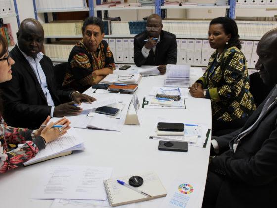 A delegación guineana iniciou a súa visita a Galicia cunha xuntanza técnica na Secretaría do Fondo Galego.