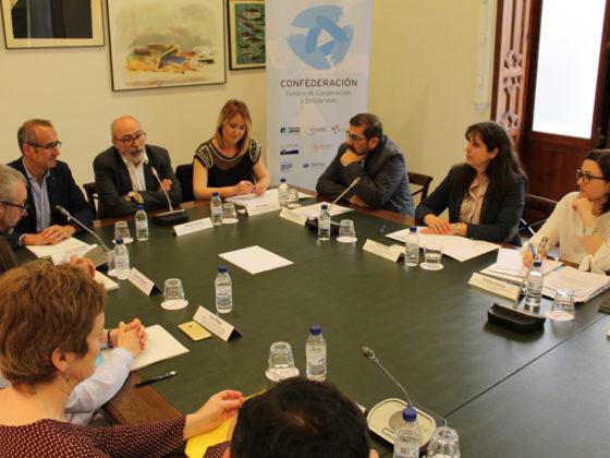 O presidente do Fondo Galego e alcalde de Nigrán e mais a vicepresidenta e concelleira en Redondela participaron na Asemblea.