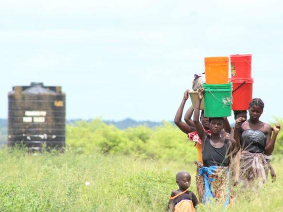 Construción de dous sistemas de abastecemento de auga no barrio de Mutarara Velha, Municipio de Nhamayabue
