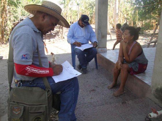 Recollida de datos para o plan de xestión da auga en Honduras.