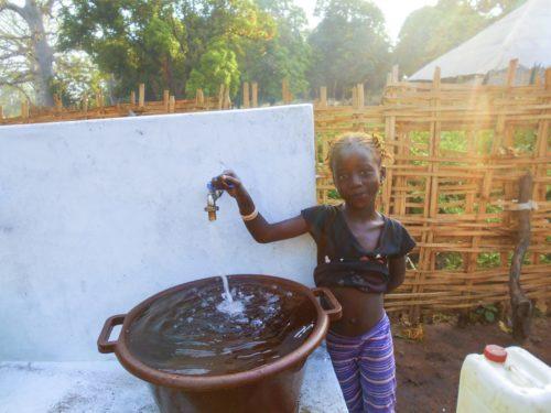 O proxecto con ACPP en Guinea-Bissau facilitoulle o acceso á auga aos 1.824 habitantes de Carantaba.