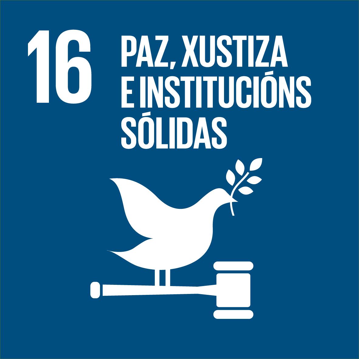 ODS 16: Paz, xustiza e institucións sólidas