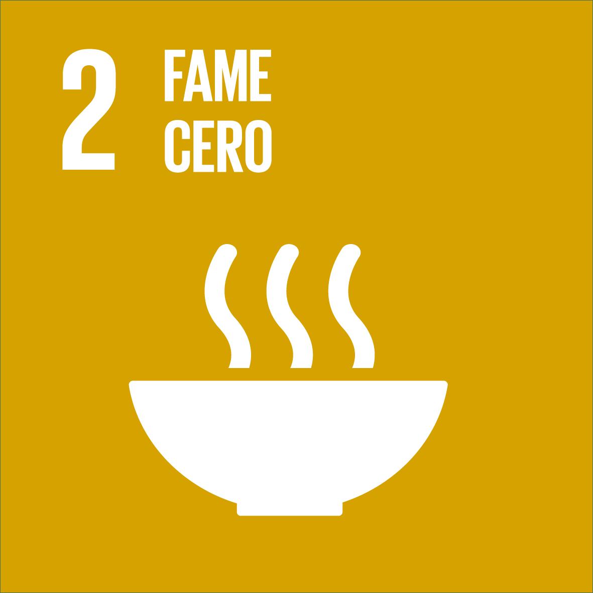 ODS 2: Fame cero