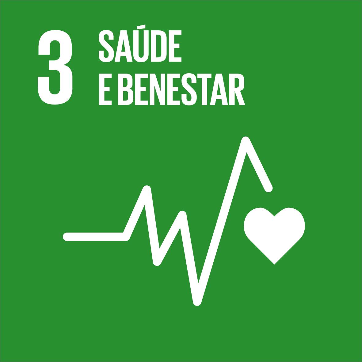ODS 3: Saúde e benestar