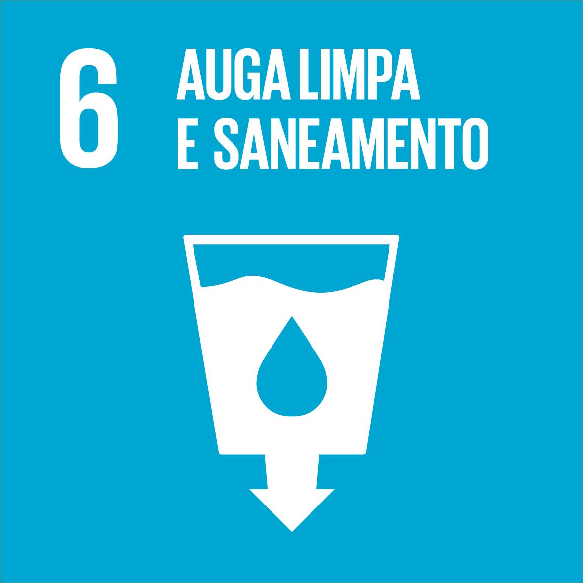 ODS 6: Auga limpa e saneamento