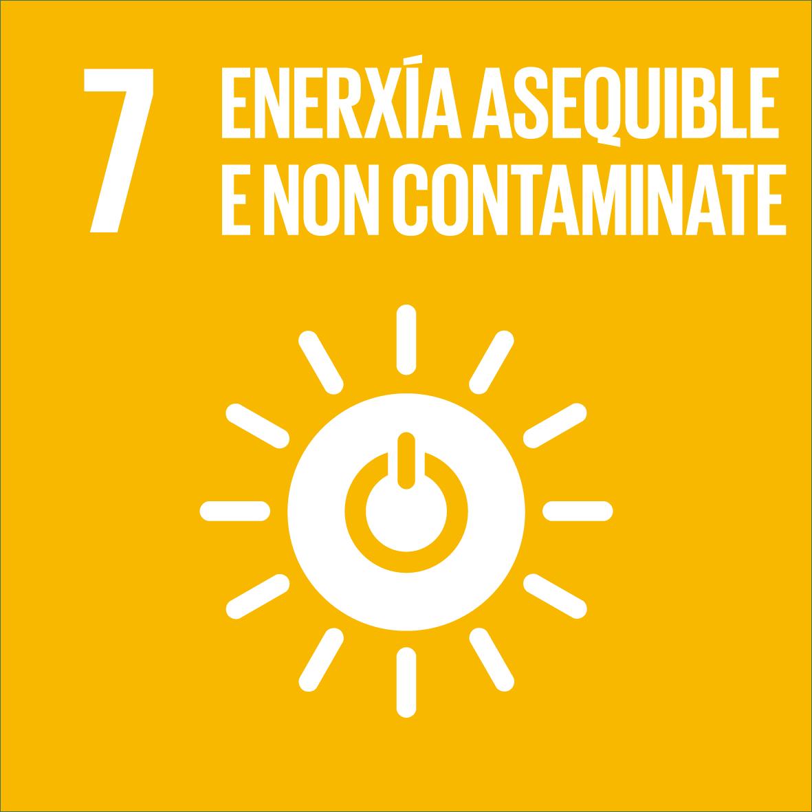 ODS 07: Enerxía asequible e non contaminante