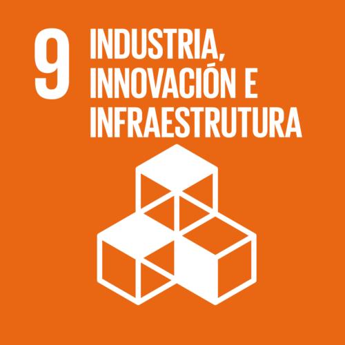 Obxectivos de Desenvolvemento Sostible [9] Industria, innovación e infraestrutura.