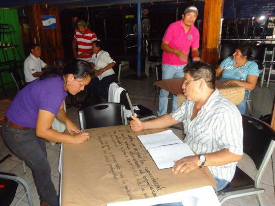 Fortalecemento das capacidades locais na xestión ambiental de dúas áreas protexidas do Golfo de Fonseca
