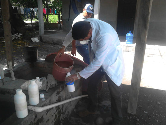 Fortalecemento das capacidades locais para mellorar o acceso ao dereito á auga potable e saneamento