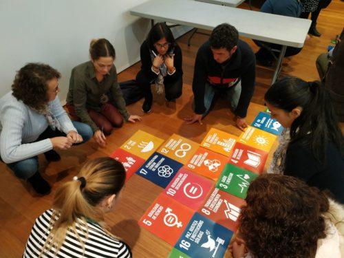 O intercambio arredor dos ODS lévase a cabo a través de dinámicas participativas.