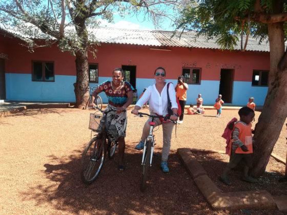 Magui Docanto, coa responsable da Área de Acción Social.