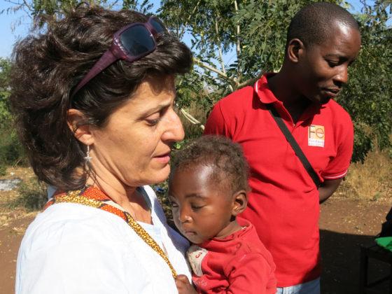 María José Castro leva dezaseis anos en Mozambique.