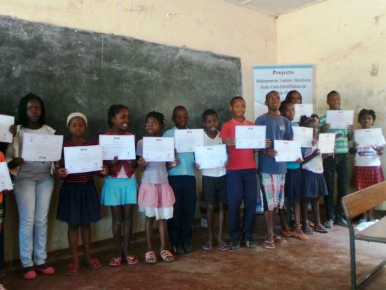 Mellora das condicións educativas da escola e centro infantil Hitakula das Mahotas