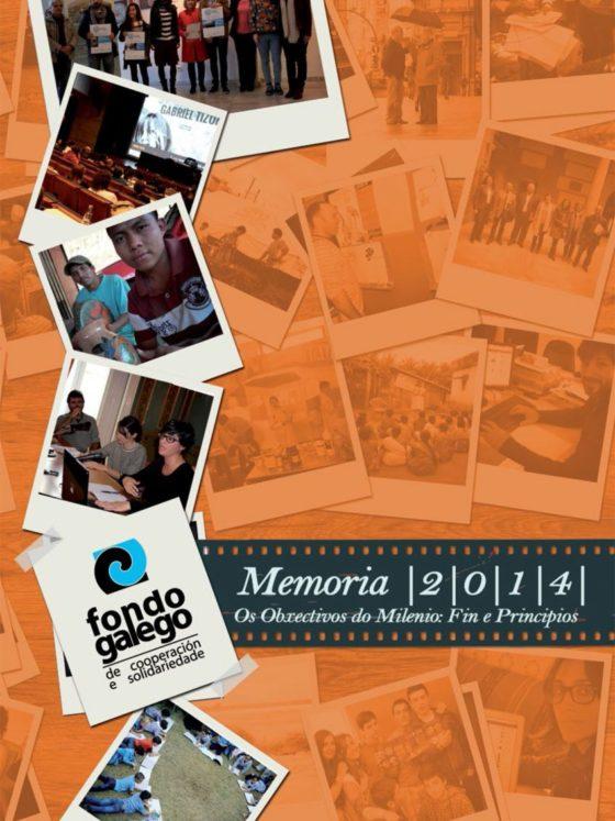 Memoria 2014: Os Obxectivos do Milenio: Fin e Principios