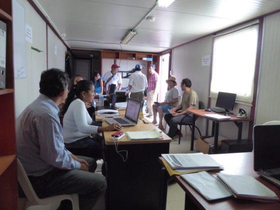 Reimplementación do equipo informático do Municipio de Jama para ofrecer servizos á cidadanía despois do terremoto de Ecuador