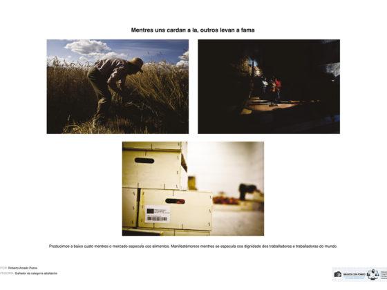 O fotoxornalista Rober Amado gañou a primeira edición do concurso.