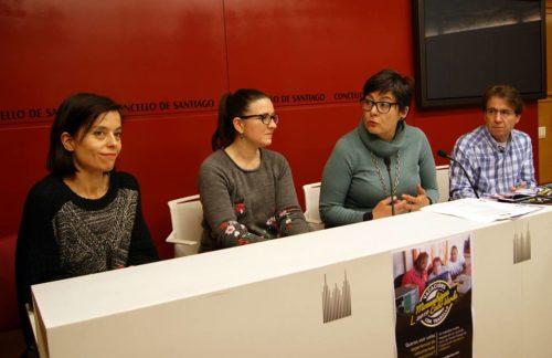Yolanda Ferro, Andrea García, Concha Fernández e Manuel Fuentes presentaron as Vacacións con Traballo 2019.