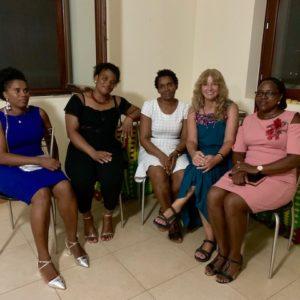 Lola Pardo achegouse ao traballo dos diferentes axentes do desenvolvemento local en Cabo Verde.