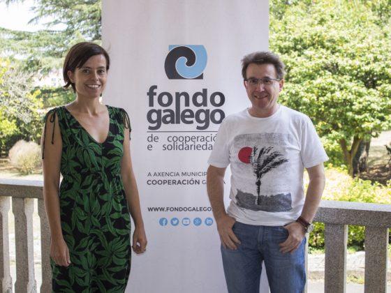 Yolanda Ferro e Manuel Fuentes asistiron a unha xornada de formación.